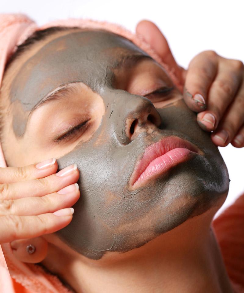 gommage et masque visage