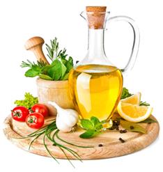huile et alimentation