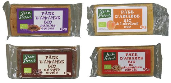 pâtes d'amandes Jean hervé