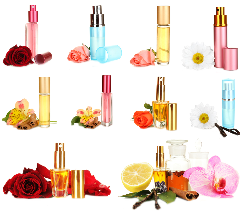 différents parfums