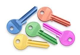 clés couleurs