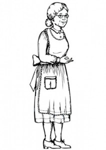grandma-outline-12524