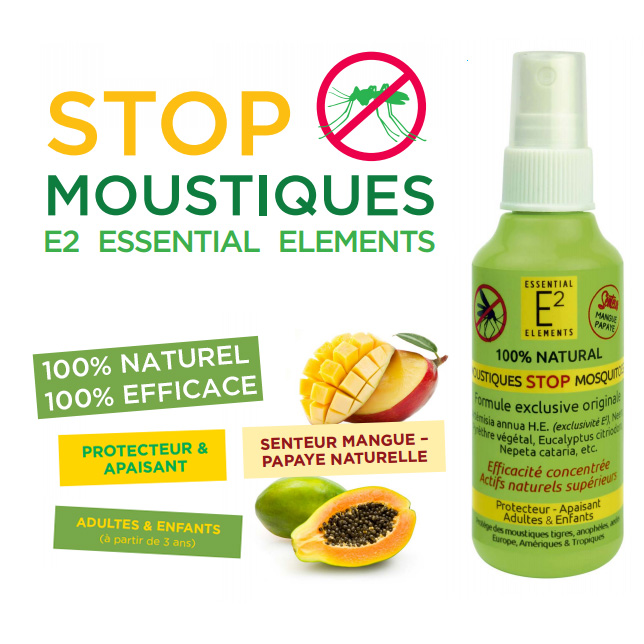 Un Spray Anti-Moustiques 100% Naturel Et 100% Efficace Pour