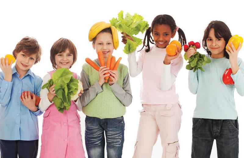 enfants-et-fruits-et-legumes
