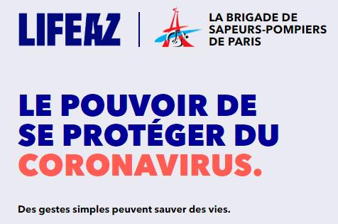 Les pompiers de Paris et LIFEAZ : une plateforme pour sensibiliser massivement la population aux gestes qui sauvent